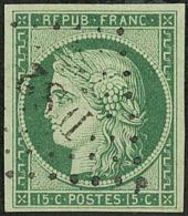 """No 2, nuance foncée, obl """"DS 2"""", jolie pièce. - TB. - R"""