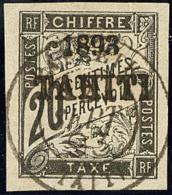 Taxe. No 21, Obl Cad Sept 93. - TB