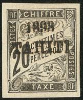 Taxe. No 21. - TB