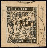 Taxe. No 16, Sur Petit Fragment. - TB