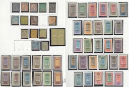 Collection. 1894-1944 (Poste, PA, Etc.), Moyennes Valeurs, Des Séries Complètes, Divers Doubles Et Qqs Obl