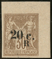 """""""R"""" Décalé à Droite Sous Le """"C."""". No 10, Cdf, Superbe"""