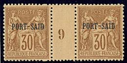 No 12, Paire Mill. 9, Superbe (cote Yv. Spé 2013)