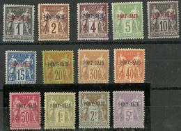 Tirage Spécial Pour L'Exposition De 1900. Nos 1 à 18 (sauf 3, 6, 8, 11 Et 15). - TB. - R