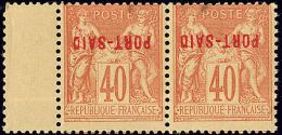 Emission Provisoire Locale Vendue Du 17 Au 24 Novembre 1899 (cote Yv. Spé 2013). Surcharge Renversée. No 1