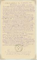 """Document Et Article Concernant L'historique De La Série Provisoire """"bâton"""" En Cours Du 19 Au 24 Nov 1899. -"""