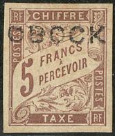 Taxe. No 18, Fortes Charnières Mais TB