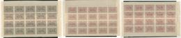 Nos 47 à 49, En Feuille De 25ex, Le 47 Un Ex Pd. - TB (cote Maury)