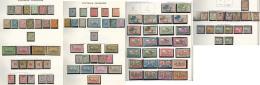 Collection. 1905-1970 (Poste, PA, Taxe, BF), Complète Sauf FL, Nombreux Doubles Obl Constituant Une 2ème C