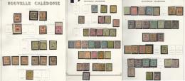 Collection. 1859-1903 (Poste), Valeurs Moyennes Et Séries Complètes, Des Doubles Obl. - TB, B Ou Pd