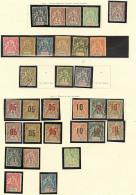 Collection. 1906-1912 (Poste), Complète Sauf 13, 15 Et 16, Qqs Doubles Obl. - TB