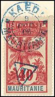 Taxe. No 6 + Poste 1, Obl Kaédi 9 Oct 1906 Sur Enveloppe. - TB. - R