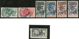Taxe. Nos 1 à 5, 7, 8, Obl Cad Kaédi Oct 1906. - TB