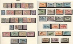 Collection. 1891-1956 (Poste, PA, Taxe, C.Px), Valeurs Moyennes Et Séries Complètes, Des Ex Obl Dont Doubl