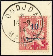 Oudjda. No 56, Sur Petit Fragment Avec Cad 14.9.14. - TB