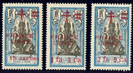 France-Libre. Nos 187 à 189. - TB (cote Maury)
