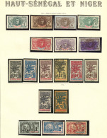 Collection. 1906-1917 (Poste, Taxe), Complète Sauf Taxe 7, 9 Et 10. - TB