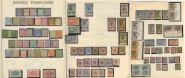 Collection. 1892-1942 (Poste, PA, Taxe, Mill., BF), Complète + Doubles Obl Constituant Une 2ème Collection