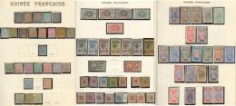 Collection. 1892-1941 (Poste, PA), Des Valeurs Moyennes Et Séries Complètes, Des Ex (*) Et Divers Obl Dont
