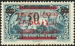 Erreur, Surcharge Sur N°113. (No 120), Impliquant Une Double Surch. Française Et Arabe En Rouge (Maury 118D),