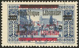 Erreur, Surcharge Rouge Sur N°96 Au Lieu De 79. No 114, Impliquant Une Double Surcharge Française N + R. - TB