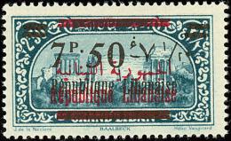 Erreur, Surcharge Rouge Apposée Sur N°93 Au Lieu Du 78. No 113, Impliquant Une Double Surcharge França