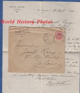 Enveloppe Ancienne & Son Courrier De 1921 - EL MANACHI - Michel ZALIKIS / P. POTRIAKI - 1915-1921 Protectorat Britannique