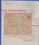 Enveloppe Ancienne & Son Courrier De 1921 - EL MANACHI - Michel ZALIKIS / P. POTRIAKI