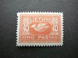 Lietuva Lithuania Litauen Lituanie Litouwen # 1921 MH # Mi. 103 Planes. Airmail - Lituanie