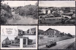 12 X  Oude Kaarten WESTOUTER ZWARTENBERG - Heuvelland
