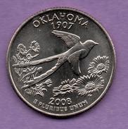 USA - QUARTER DOLLAR 2008 OKLAHOMA - Colecciones