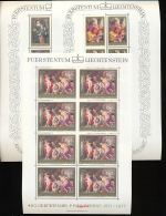 LIECHTENSTEIN Mi.Nr. 655-657 400. Geburtstag Von Peter Paul Rubens - Kleinbogen - MNH - Blocks & Kleinbögen