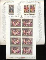 LIECHTENSTEIN Mi.Nr. 655-657 400. Geburtstag Von Peter Paul Rubens - Kleinbogen - MNH