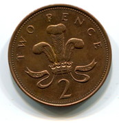 1999 Great Britain 2p Coin - 1971-… : Decimal Coins