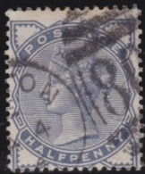 Great  Britain    .   Yvert   76        .    O      .   Gebruikt    .     /    .     Cancelled - 1840-1901 (Victoria)