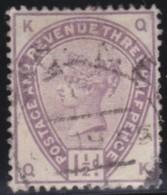 Great  Britain    .   Yvert   77            .    O      .   Gebruikt    .     /    .     Cancelled - 1840-1901 (Victoria)