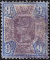 Great  Britain    .   Yvert    101        .    O      .   Gebruikt    .     /    .     Cancelled - 1840-1901 (Victoria)