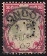 Great  Britain    .   Yvert    117      .        O      .   Gebruikt    .     /    .     Cancelled - Gebraucht