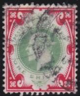 Great  Britain    .   Yvert    117      .        O      .   Gebruikt    .     /    .     Cancelled - 1902-1951 (Könige)