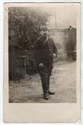 Carte-photo  -  Un Soldat à La Moustache - 1915 - Envoyé à Sa Soeur à AUCAMVILLE ( 82 ) - Guerre 1914-18