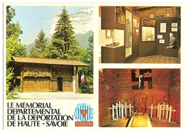 A Morette ( 74230 Thones ) Le Memorial Departemental De La Deportation ( La Crypte ) Non A La Haine - Non A L'oubli - Thônes