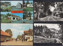 5 X KAART EN 1 X FOTO ZWARTENBERG - MONT NOIR - WESTOUTER - Heuvelland