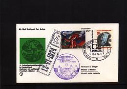Deutschland / Germany 1974 World Football Champioship Germany  Frankfurt - Mexico Lufthansa Letter - Coppa Del Mondo