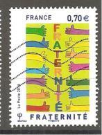 FRANCE 2016 FRATERNITE Oblitéré - Used Stamps