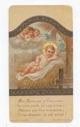 Enfant Jésus, Crèche, Noël, Anges, éd. Bonamy 2.427 - Images Religieuses