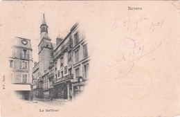 Carte Postale Ancienne De La Nièvre - Nevers - Le Beffroi - Vers 1900 - Nevers