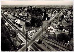 En Avion Au-dessus De....DOMPIERRE SUR BESBRE (03): Quartier De La Gare - Autres Communes