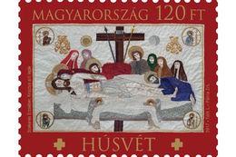HUNGARY - 2017.  Easter / Christ's Sepulchral Shroud By Erzsébet Szekeres MNH!!! - Pasqua