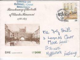 Ireland: Charles Bianconi's Birth; Carried On Clonmel/Cahir Mailcoach 2 Oct 1986 - Ireland