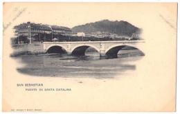 (Espagne) País Vasco 068, Guipúzcoa, San Sebastian, Hauser 362, Puente De Santa Catalina - Guipúzcoa (San Sebastián)